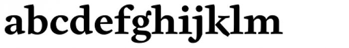 Cardea Basic Bold Lining Font LOWERCASE