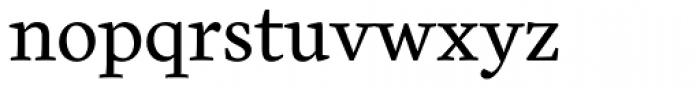 Cardea Basic Regular Lining Font LOWERCASE