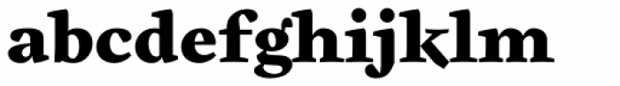 Cardea Black Font LOWERCASE