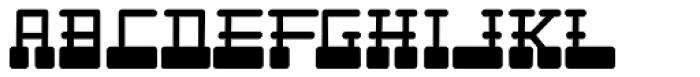 Cardholder Dispute SRF Font LOWERCASE