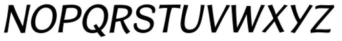 Cardigan Italic Font UPPERCASE