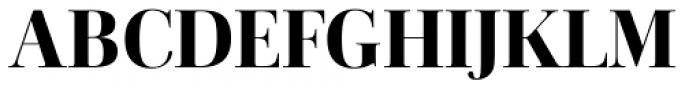 Cardillac Extra Bold Font UPPERCASE