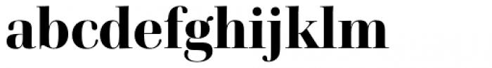 Cardillac Extra Bold Font LOWERCASE