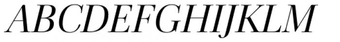 Cardillac Italic Font UPPERCASE