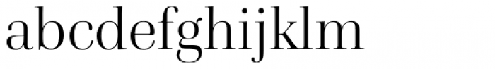 Cardillac Light Font LOWERCASE