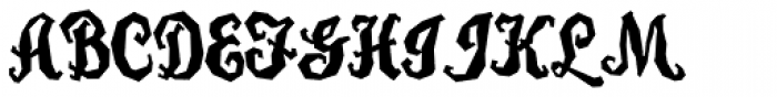 Carefreed Font UPPERCASE