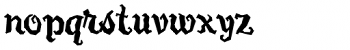 Carefreed Font LOWERCASE