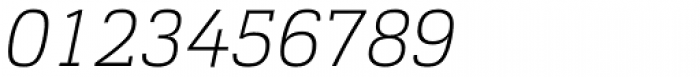 Cargan Thin Italic Font OTHER CHARS