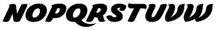 Caridade Heavy Font UPPERCASE