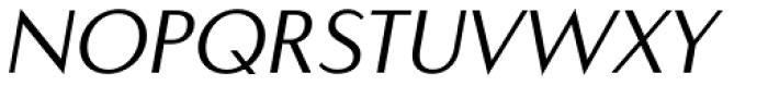 Carisma Classic Oblique Font UPPERCASE