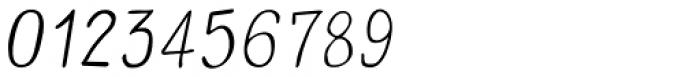 Carl Sans Italic Font OTHER CHARS