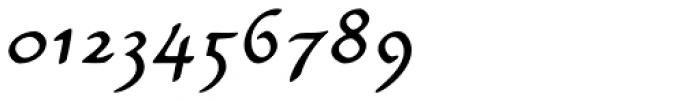 Carlin Script Italic Font OTHER CHARS