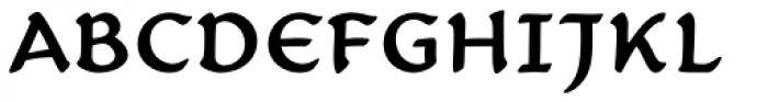 Carlin Script Medium Font UPPERCASE