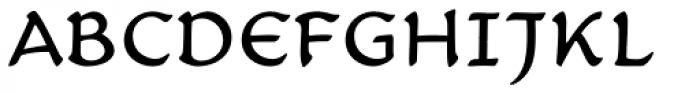 Carlin Script Font UPPERCASE