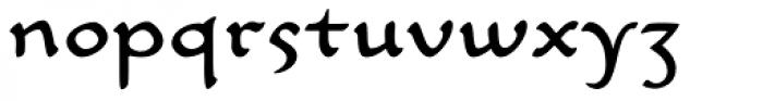 Carlin Script Font LOWERCASE
