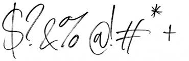 Carlinet Regular Font OTHER CHARS