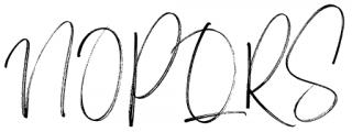Carlinet Regular Font UPPERCASE