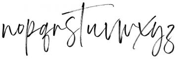 Carlinet Regular Font LOWERCASE