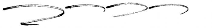 Carlinet Swash Font LOWERCASE
