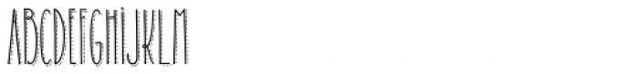 Carlino Bold Dots Font UPPERCASE