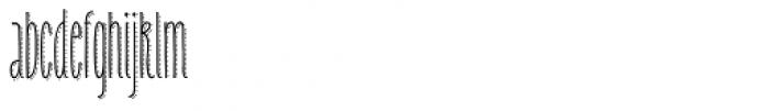 Carlino Bold Dots Font LOWERCASE