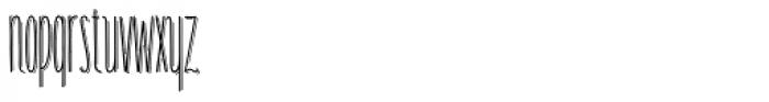 Carlino Bold Shade Font LOWERCASE