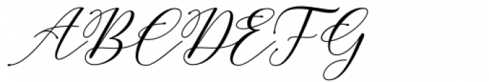 Carliste Script Regular Font UPPERCASE