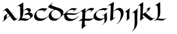 Carlomagno ND Font UPPERCASE