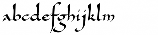 Carlomagno ND Font LOWERCASE