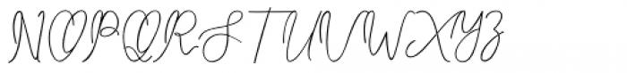 Carlyle Honi Regular Font UPPERCASE