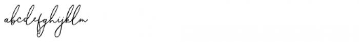 Carlyle Honi Regular Font LOWERCASE
