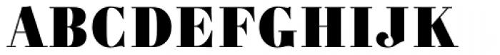 Carmen Black Font UPPERCASE