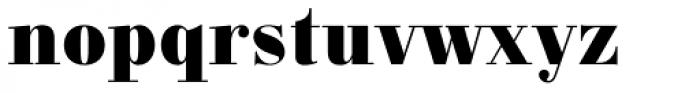 Carmen Black Font LOWERCASE