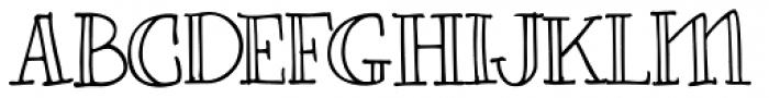 Carmencita Regular Font UPPERCASE