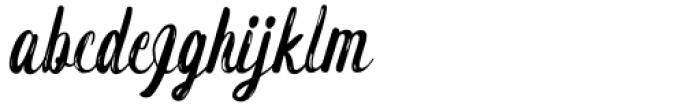 Carmentz Regular Font LOWERCASE