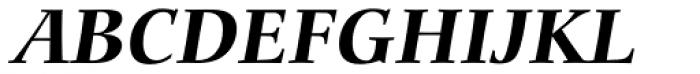 Carmina BT Bold Italic Font UPPERCASE