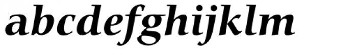 Carmina BT Bold Italic Font LOWERCASE