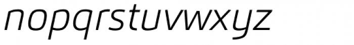 Carnac Extra Light Italic Font LOWERCASE