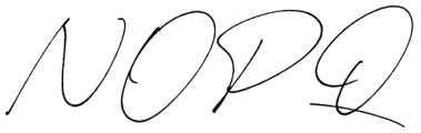 Carneys Gallery Script Font UPPERCASE