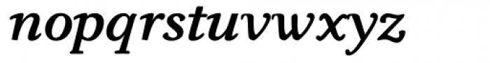 Carniola Bold Italic Font LOWERCASE