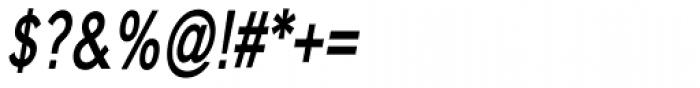 Carnova Narrow SemiBold Oblique Font OTHER CHARS