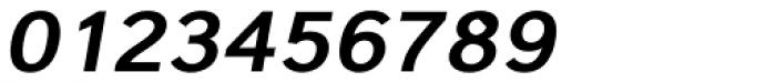 Carnova Wide SemiBold Oblique Font OTHER CHARS