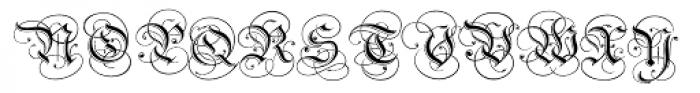 Carol Etched Font UPPERCASE