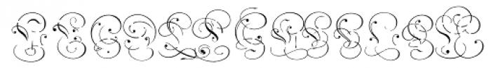 Carol Overlay Font LOWERCASE