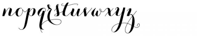 Carolyna Pro Black Font LOWERCASE
