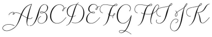 Carolyna Pro Font UPPERCASE