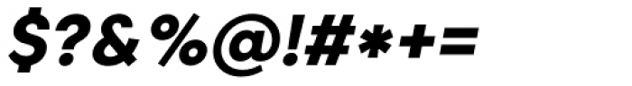 Caros Extra Bold Italic Font OTHER CHARS