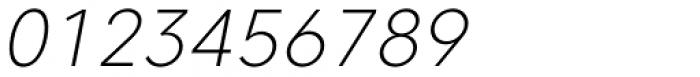 Caros Extra Light Italic Font OTHER CHARS