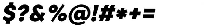 Caros Heavy Italic Font OTHER CHARS