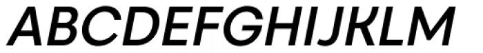 Caros Medium Italic Font UPPERCASE